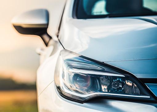 car-headlight-closeup